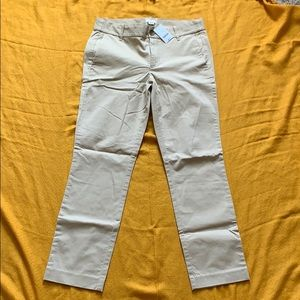 J.Crew Cropped Twill Pant NWT Size 4